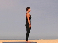 tadasana  mountain pose  yandara yoga teacher training