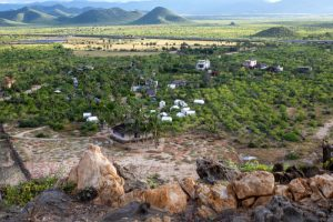 glamping_drone_view