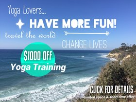 YOGA TEACHER TRAINING SUPER SALE!!